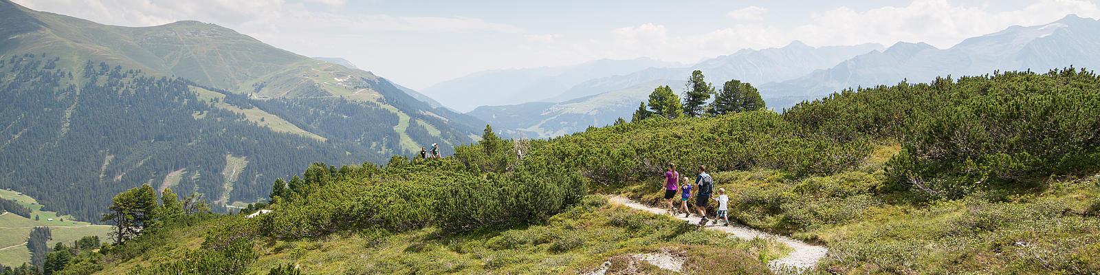 Familienwandern | © Zillertal Arena / Johannes Sautner