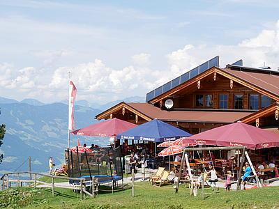 Die Kreithütte in der Zillertal Arena - Sommer