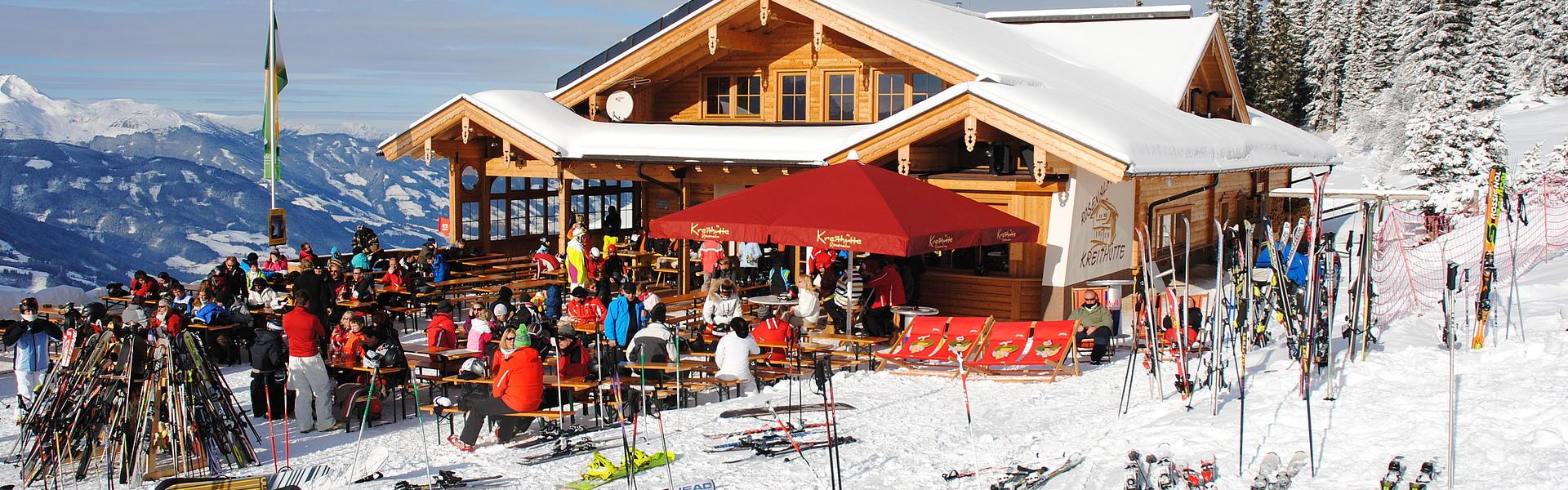 Die Kreithütte in der Zillertal Arena - Winter